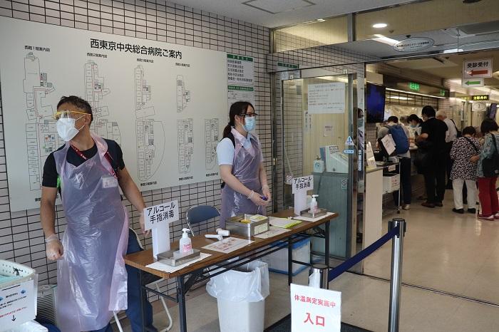 コロナ 東京 病院